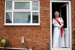 Portraits of 2012: Margaret Southcoat, Queen Elizabeth impersonator