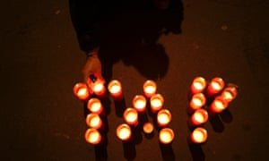 Workers hold a vigil against the privatisation of Portugal's TAP airline. Photograph: AP Photo/Francisco Seco