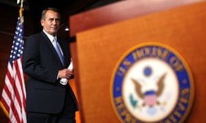 John Boehner fiscal cliff briefing