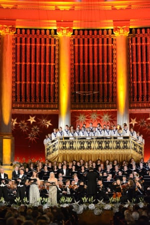 Christmas concert in Vienna.