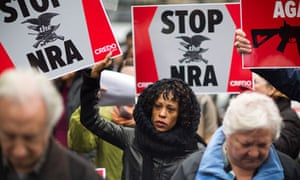 NRA protest