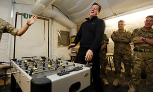 Prime Minister David Cameron visit Afghanistan