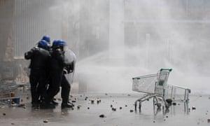 Riots in Argentina