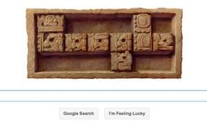 google doodle mayan
