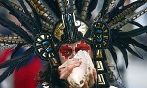 Mayan apocalypse: A dancer in Madrid