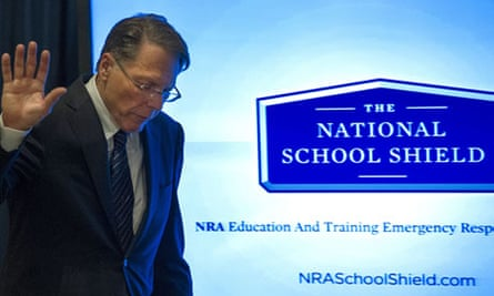 NRA executive vice president Wayne LaPierre is proposing a National School Shield