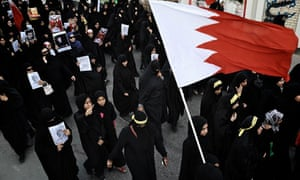 Bahrain women protest