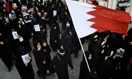 Bahrain women protest