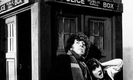 Tom Baker as Doctor Who in 1976