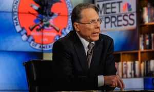 Wayne LaPierre or the National Rifle Association appears on Meet the Press