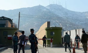 Afghan police HQ in Kabul