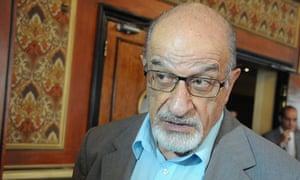 Syrian opposition figure Haitham al-Maleh.