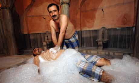Istanbul Turkish bath massage