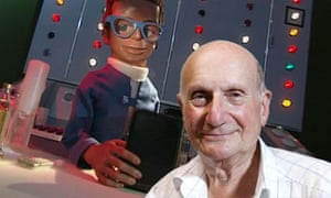 Gerry Anderson and Brains from Thunderbirds
