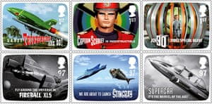Gerry Anderson: Royal Mail's first 2011 stamp collection FAB: The Genius of Gerry Anderson