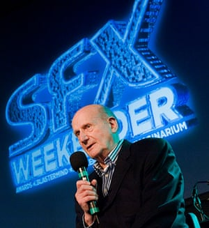 Gerry Anderson: Gerry Anderson at the SFX Weekender in 2010