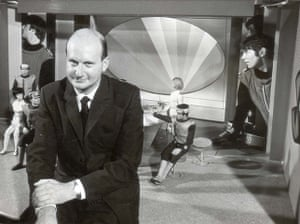 Gerry Anderson: Gerry Anderson Producer of 'Captain Scarlet and the Spectrum', 1967