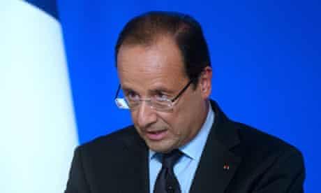 French president, François Hollande