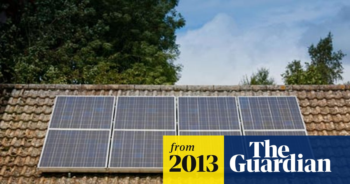 Surge in renewable energy as solar panel prices plummet