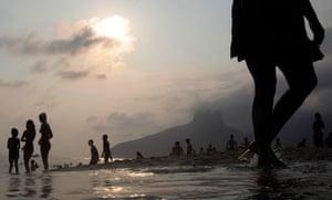 24 hours in pictures: Ipanema beach in Rio de Janeiro