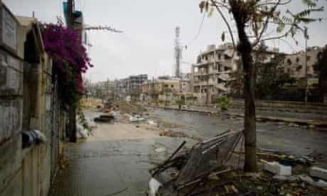 Saif al-Dawla Boulevard in Aleppo
