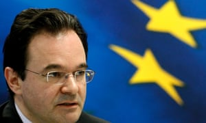 Greece's Finance Minister George Papaconstantinou speaks during a news conference in Athens April 20, 2010.