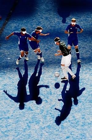 tom's best pics: Paralympics blind football