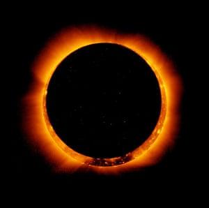NASA: Annular Solar Eclipse Observed