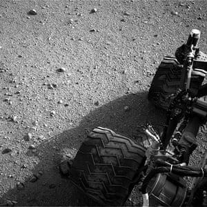 NASA: Curiosity's wheels