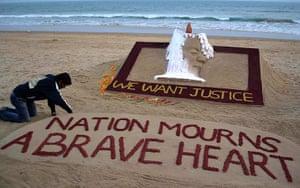 India: Sand artist Sudarshan Pattnaik