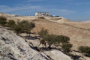 E1 project: Israeli police headquarters in the E1 project