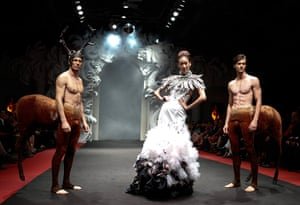 24 hours in pictures: French Couture in Singapore