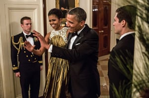 24 hours in pictures: Kennedy Centre Honours reception at the White House