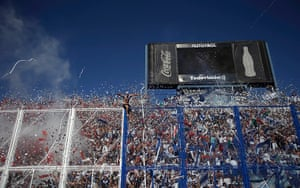 24 hours in pictures: Velez Sarsfield's fans cheer their team
