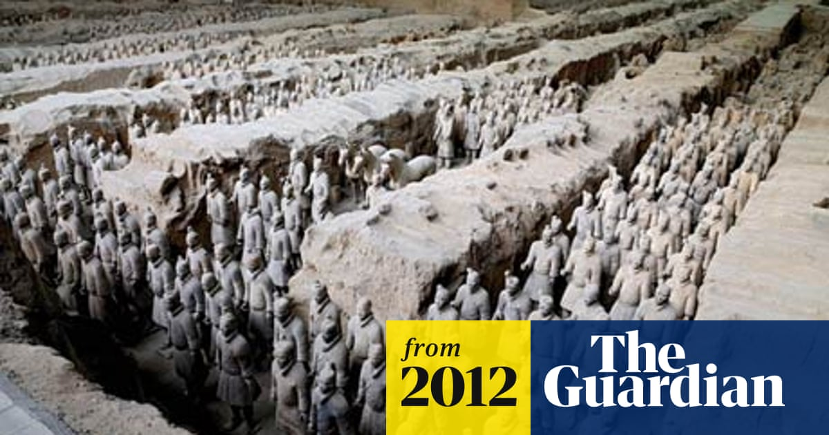 43ee5569a China unearths ruined palace near terracotta army | World news | The ...