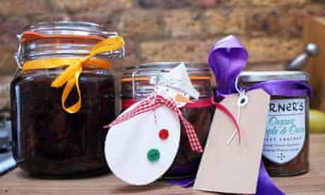 Edible Christmas presents: homemade chutney v shop bought