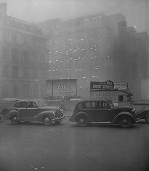 1952 smog crisis: London Smog