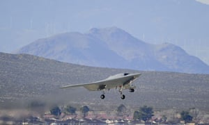 unmanned  X-47B