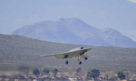 unmanned  X-47B