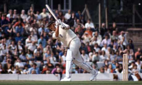 Tony Greig playing against Australia in 1972