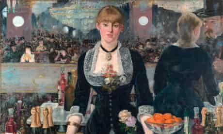 Drinking it in ... Manet's A Bar at the Folies-Bergère (1882)