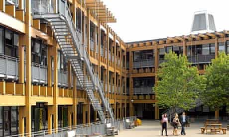 Mossbourne academy in Hackney, east London