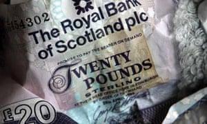 RBS banknotes
