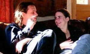 Caitlan Coleman (right) with her husband, Josh, who are missing in Afghanistan