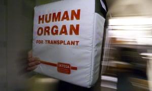 Organ donor box