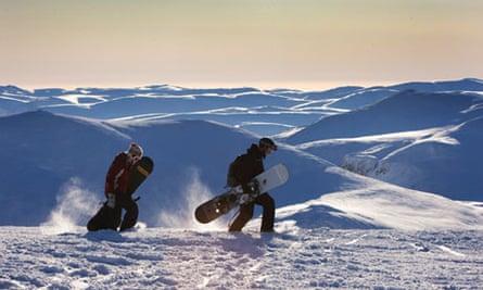 Cairngorm snowboarders