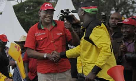 Kenyatta and Ruto