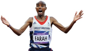 Mo Farah wins the 5,000m