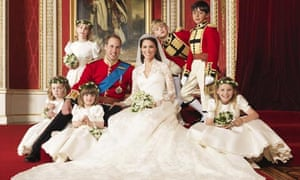 William and Kate's official wedding picture