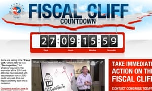US Chamber of Commerce fiscal cliff website
